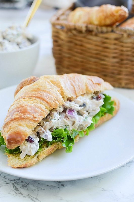 Weekly Family Meal Plan - Cranberry Turkey Salad