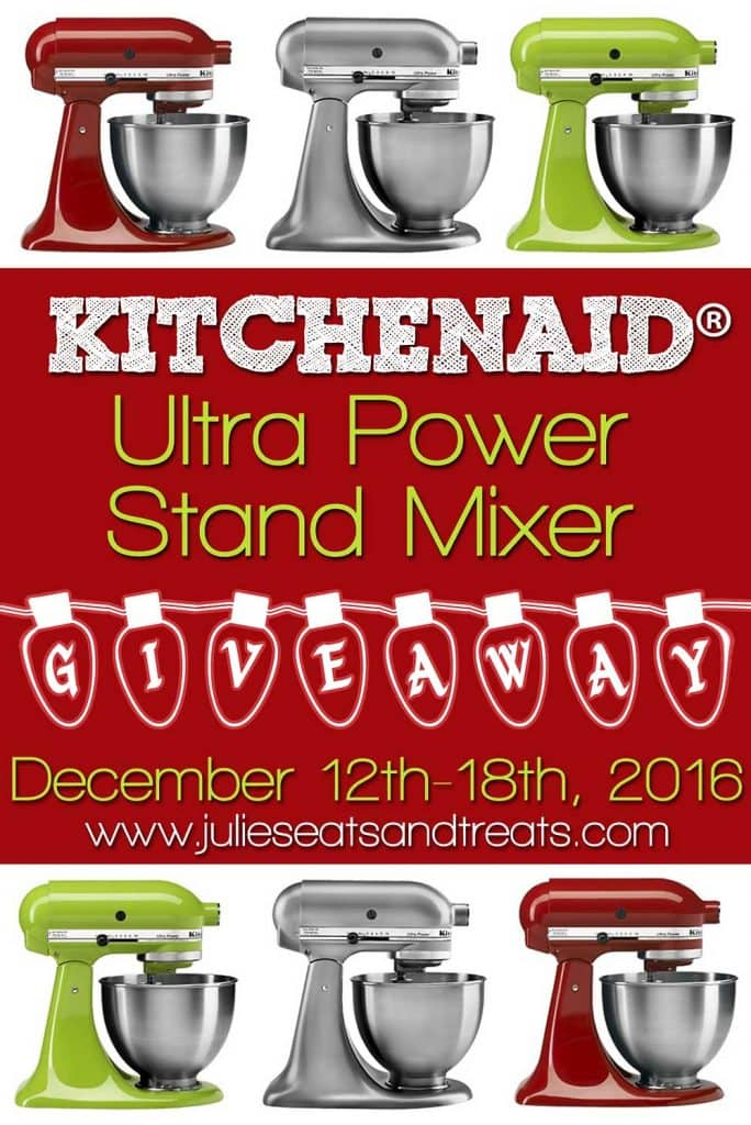KitchenAid Ultra Power Stand Mixer Giveaway- Enter now for your chance to win!!