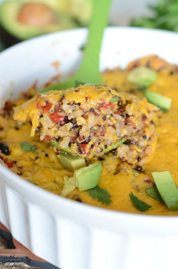 Southwest Quinoa Casserole