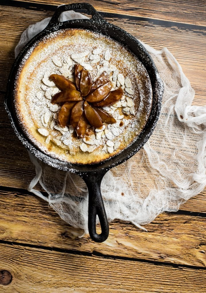 Spiced Apple Dutch Baby