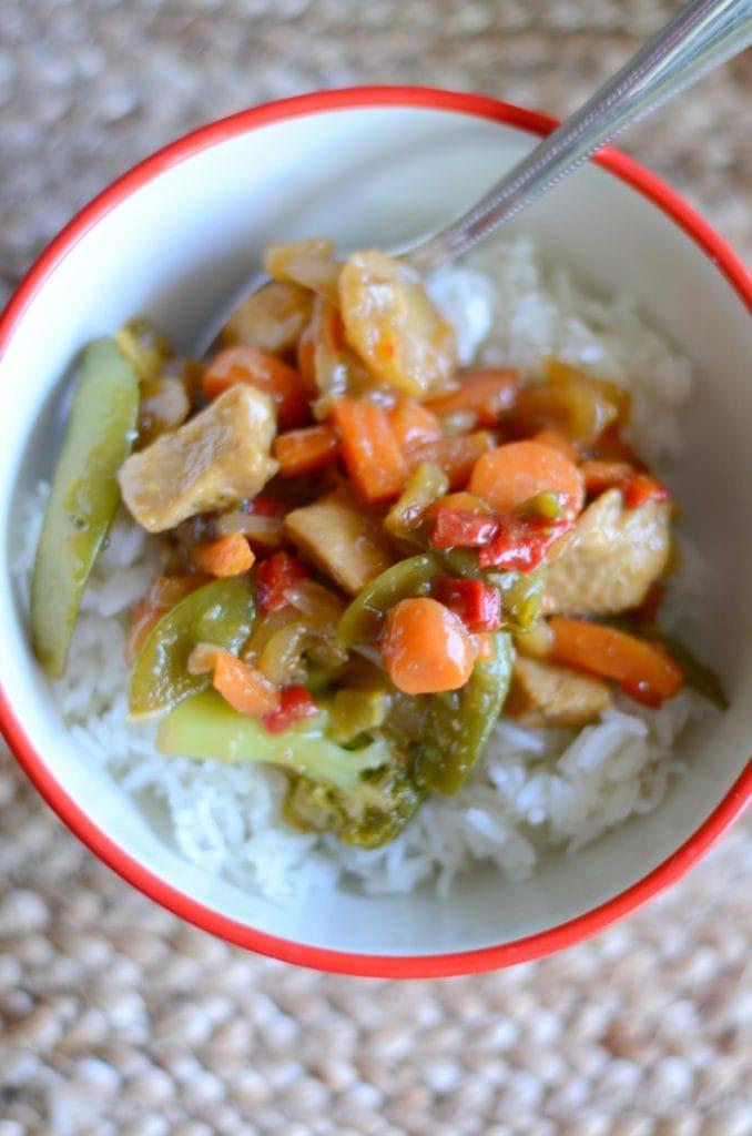Easy Chicken Stir Fry Dinner