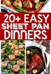 20+ Easy Sheet Pan Dinners