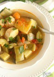 Skinny Chicken Vegetable Soup