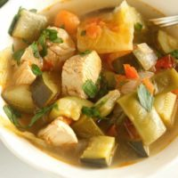 Skinny Chicken Vegetable Soup