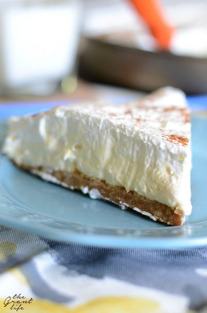 French Vanilla Silk Pie
