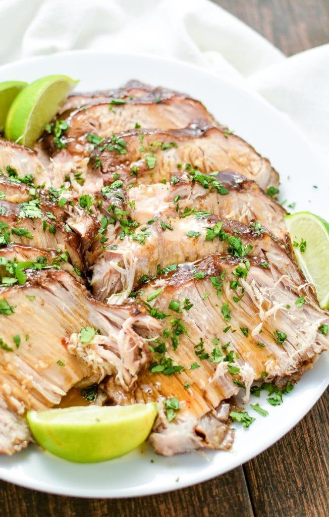 Asian Slow Cooker Pork Roast