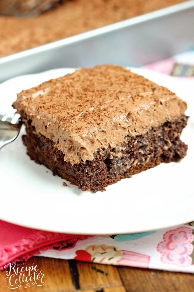 Double Mocha Poke Cake An Easy Recipe Using A Box Mix Doctored