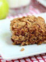 Apple Oatmeal Breakfast Cake