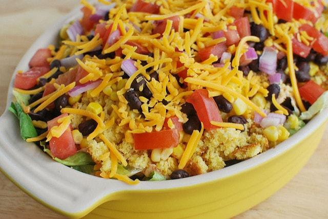 Southwestern Cornbread Salad