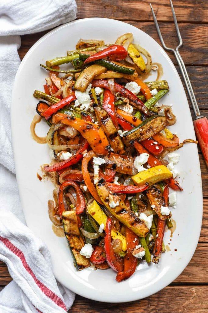 Easy Balsamic Grilled Vegetables