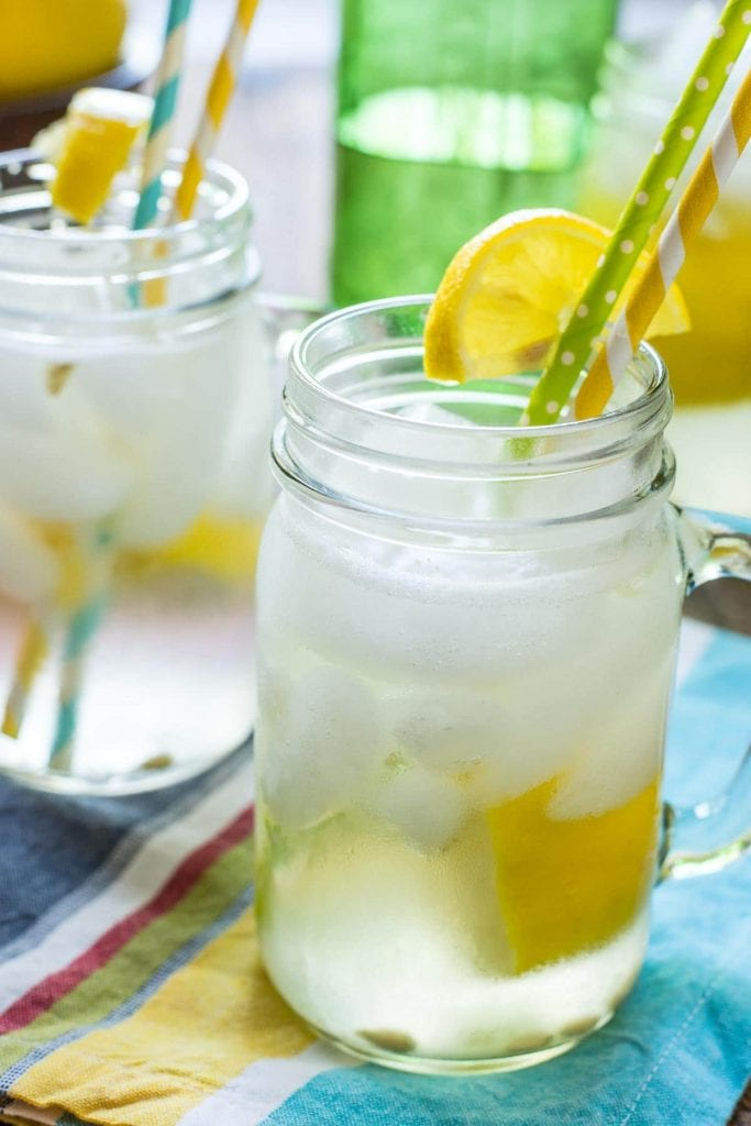 Homemade Lemon Shake Up