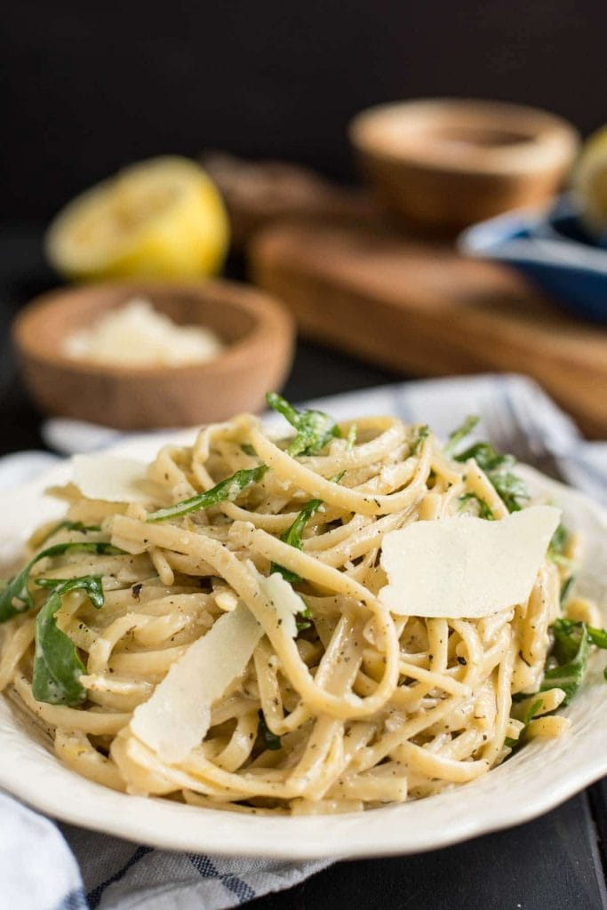 Parmesan Lemon Linguine
