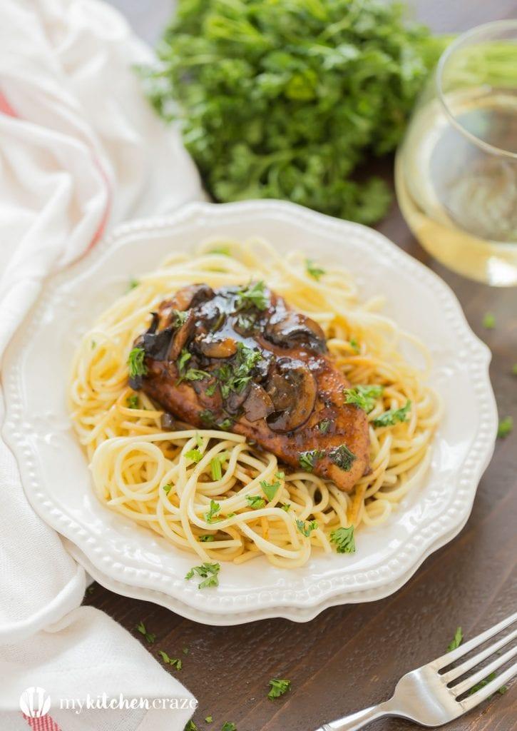30 Minute Chicken Marsala
