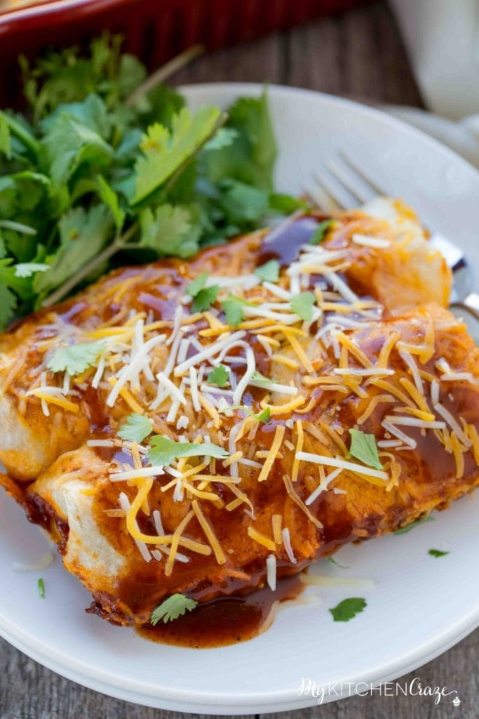 Beef & Potato Enchiladas