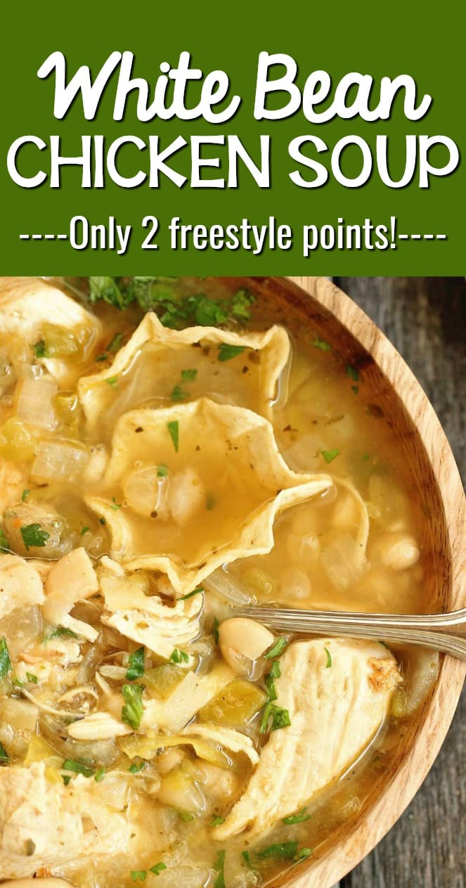 White Bean Chicken Soup Diary Of A Recipe Collector