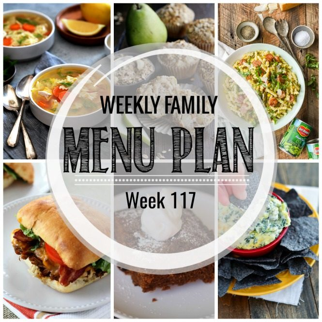 Weekly Family Meal Plan #117