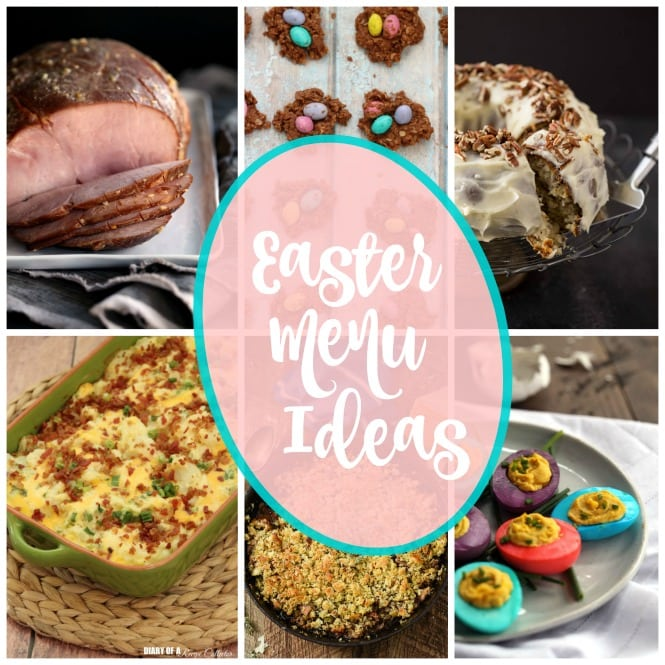 Weekly Family Meal Plan - Easter Menu Ideas