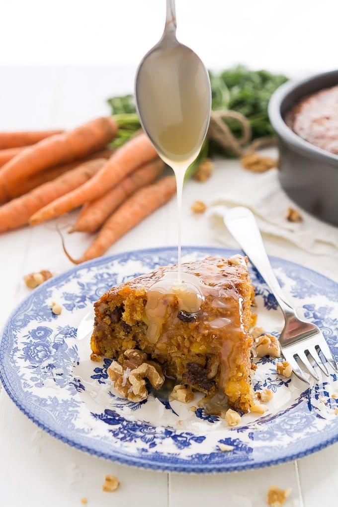 Warm Carrot Cake