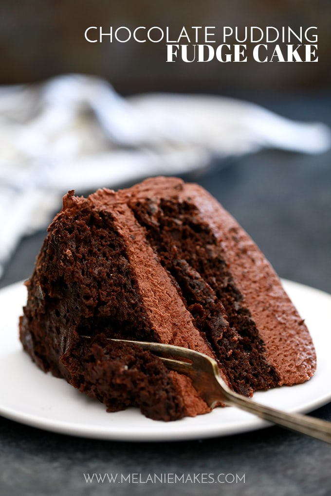 Chocolate Fudge Pudding Cake