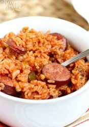 One-Pot Sausage and Red Rice