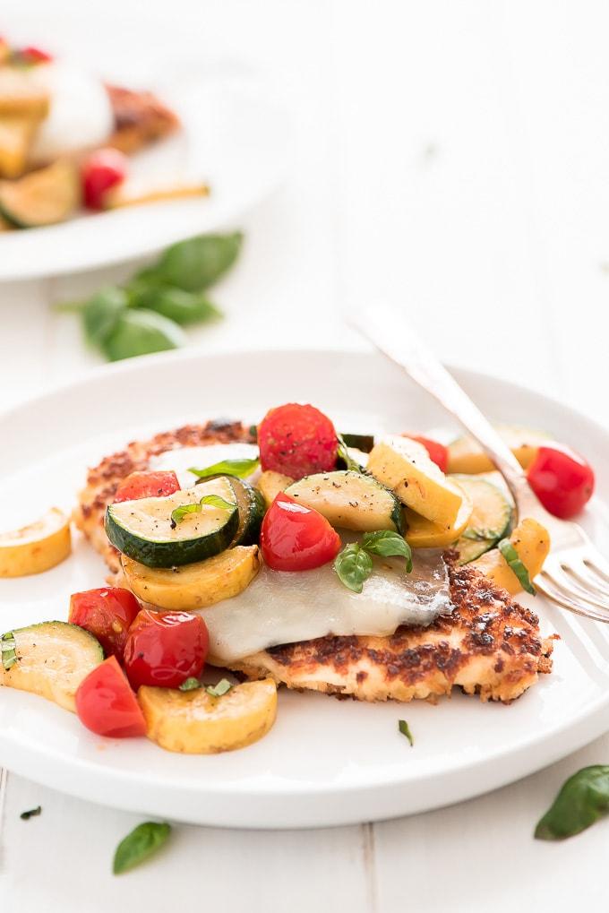 Summer Parmesan Chicken