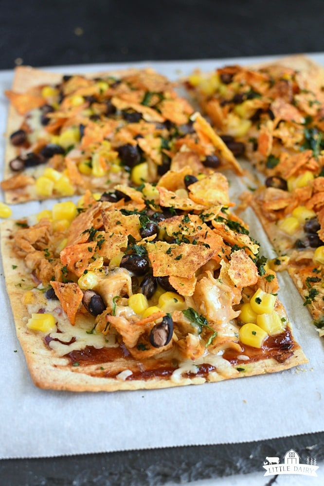 Chicken Taco Pizza (20-Minute Dinner)