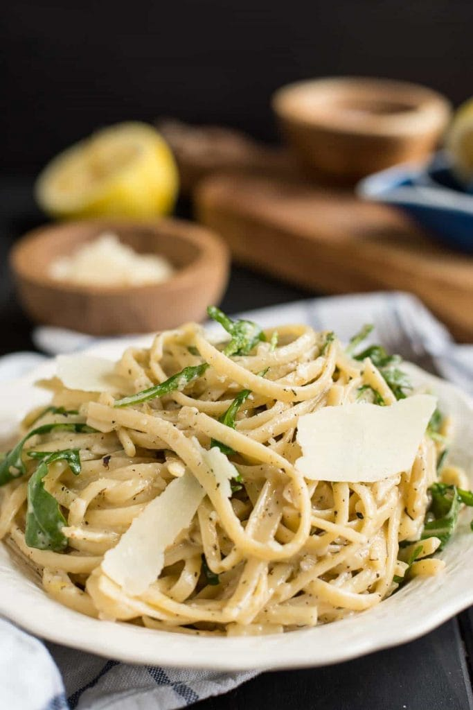 Parmesan Lemon Linguine