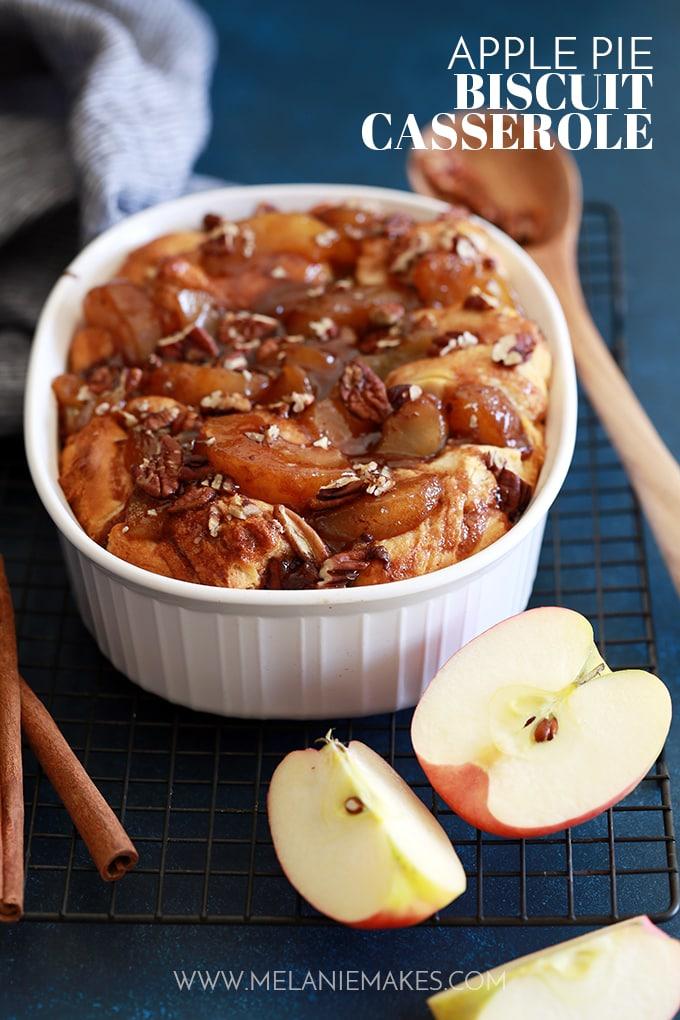 Apple Pie Biscuit Casserole