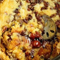 Slow Cooker Cherry Pineapple Dump Cake