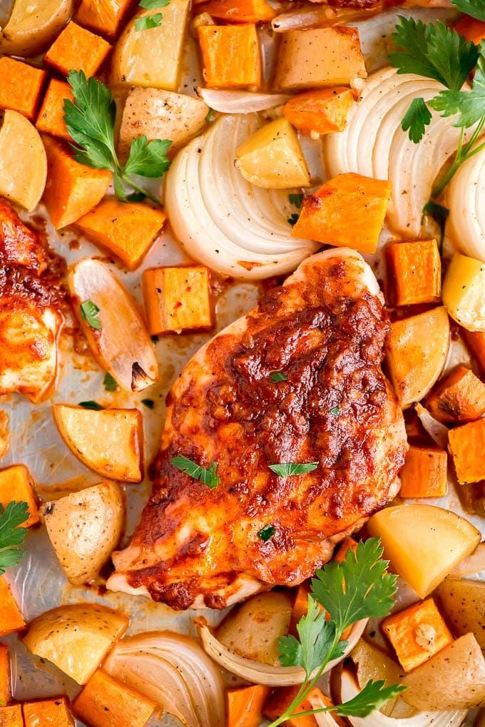 https://www.garnishandglaze.com/sheet-pan-paprika-chicken-recipe