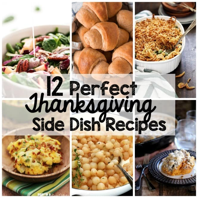 Weekly Family Meal Plan - Thanksgiving Side Dish Recipes