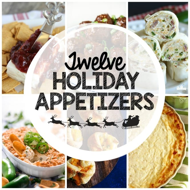 Weekly Family Meal Plan- Featuring twelve appetizer recipes perfect for all your holiday festivities!