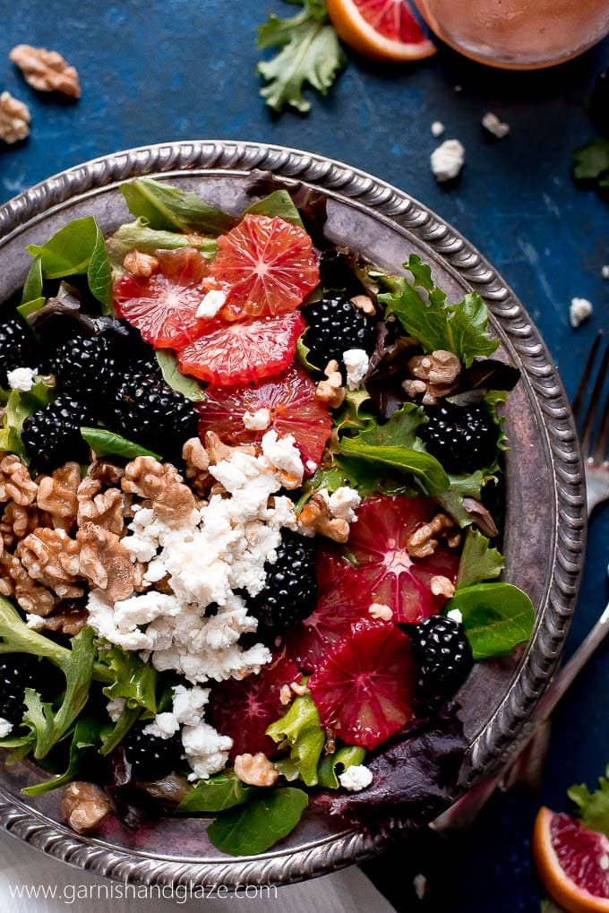 Blackberry Blood Orange Salad