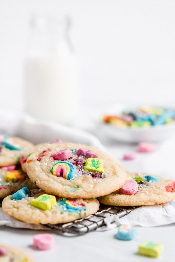 Lucky Charms Sugar Cookies