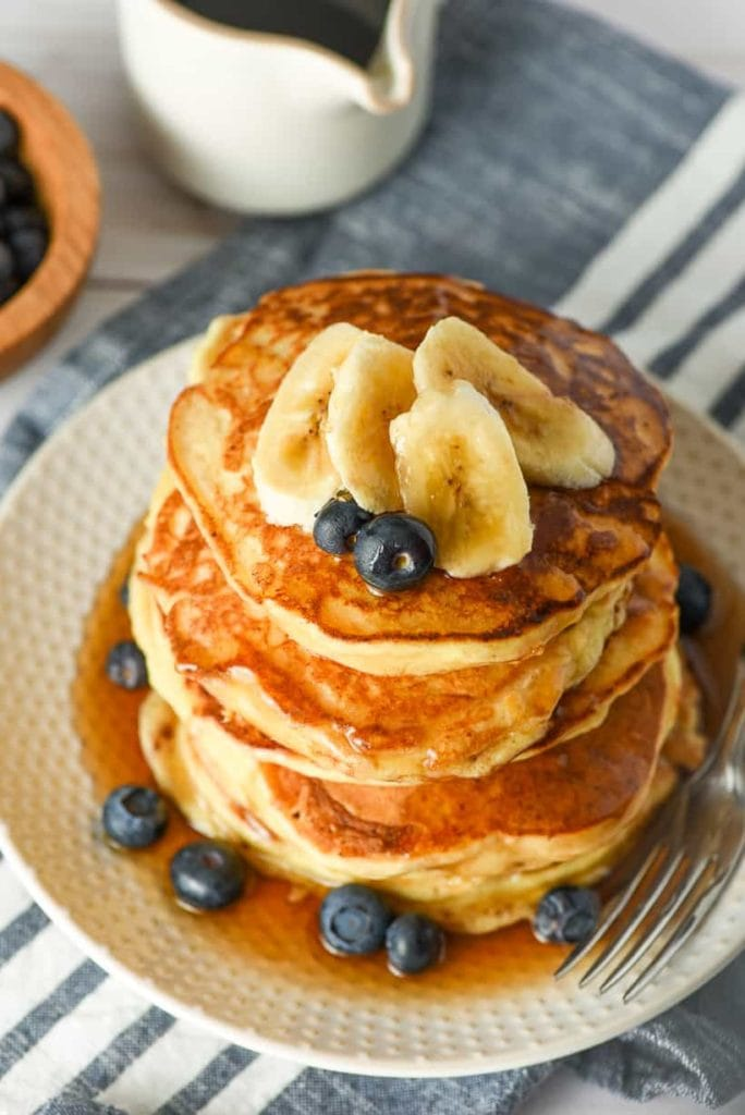 Fluffiest Ricotta Pancakes