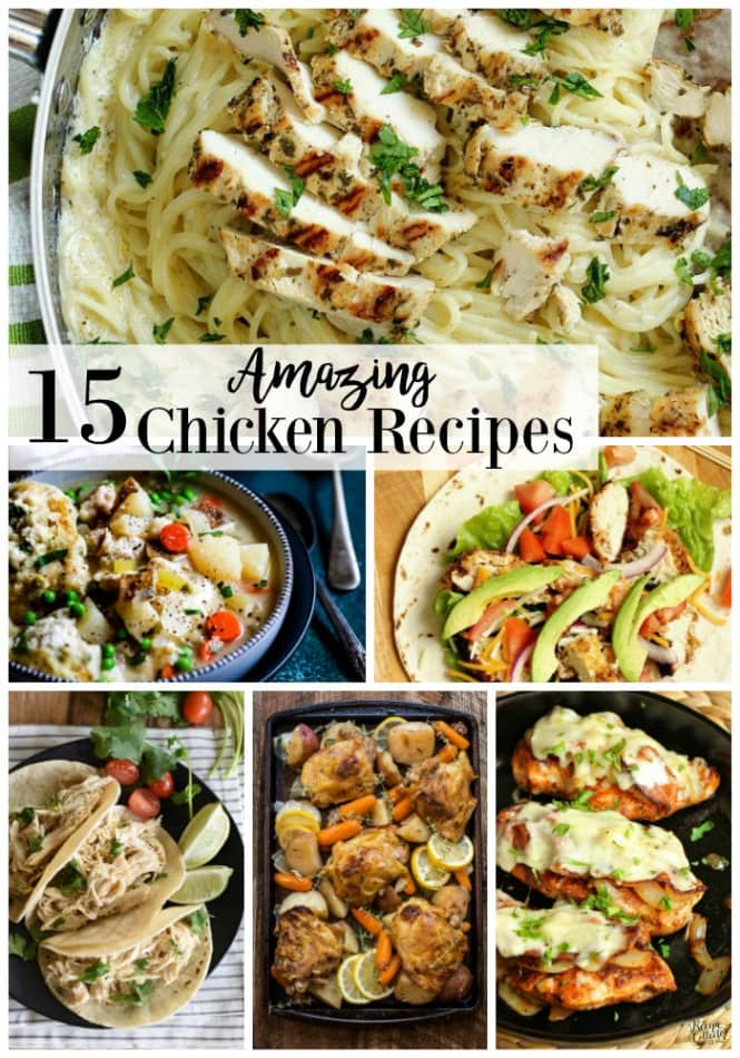 15 Amazing Chicken Recipes you need to try soon!