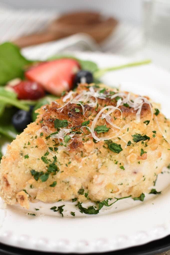 Ritz Parmesan Baked Chicken