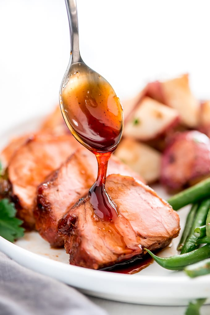 Maple Glazed Baked Pork Tenderloin