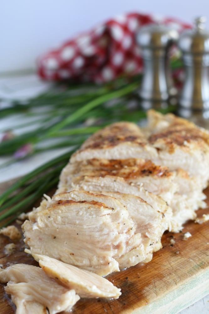 The Best 3 Ingredient Grilled Chicken
