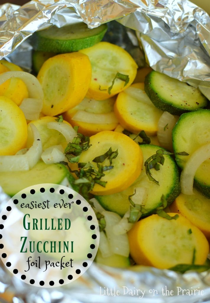 Easy Grilled Zucchini Packets
