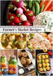 Farmer's Market Menu Plan Ideas