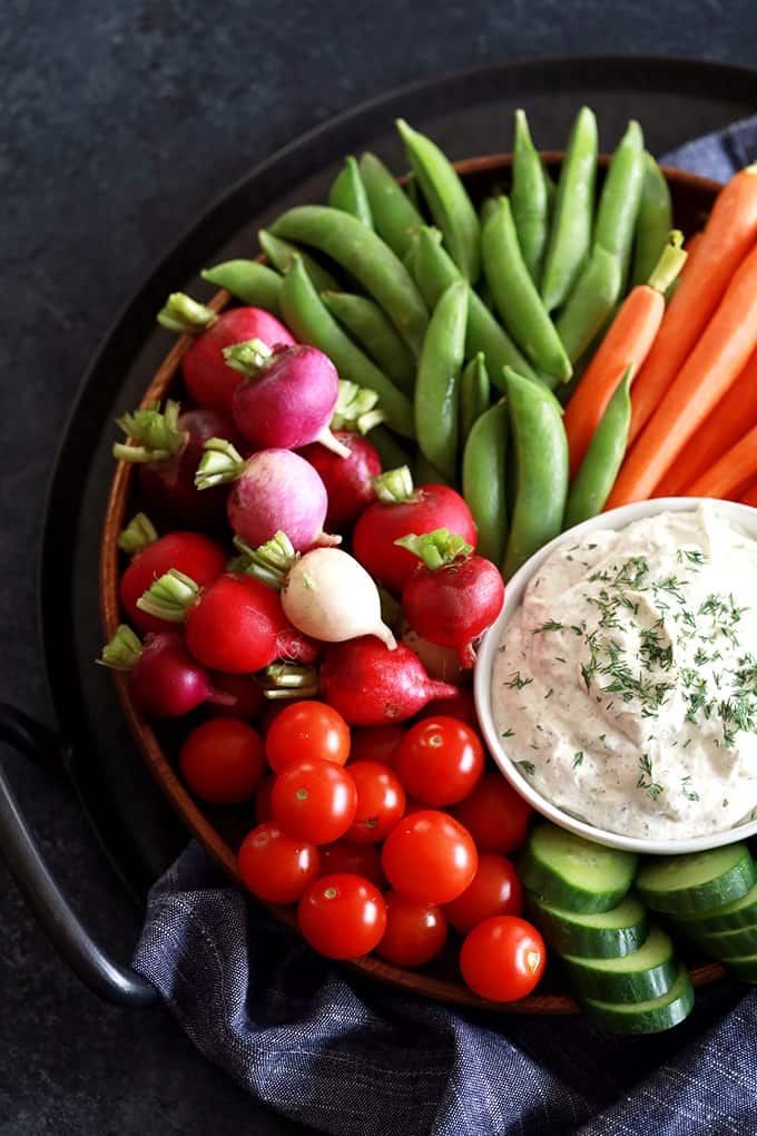Yogurt Dill Vegetable Dip