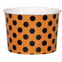 Paper Halloween Treat Bowls