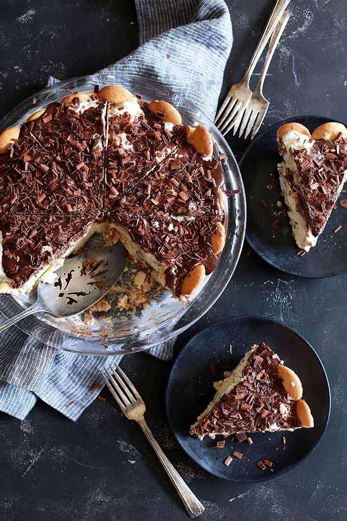 Hot Fudge Ice Cream Pie