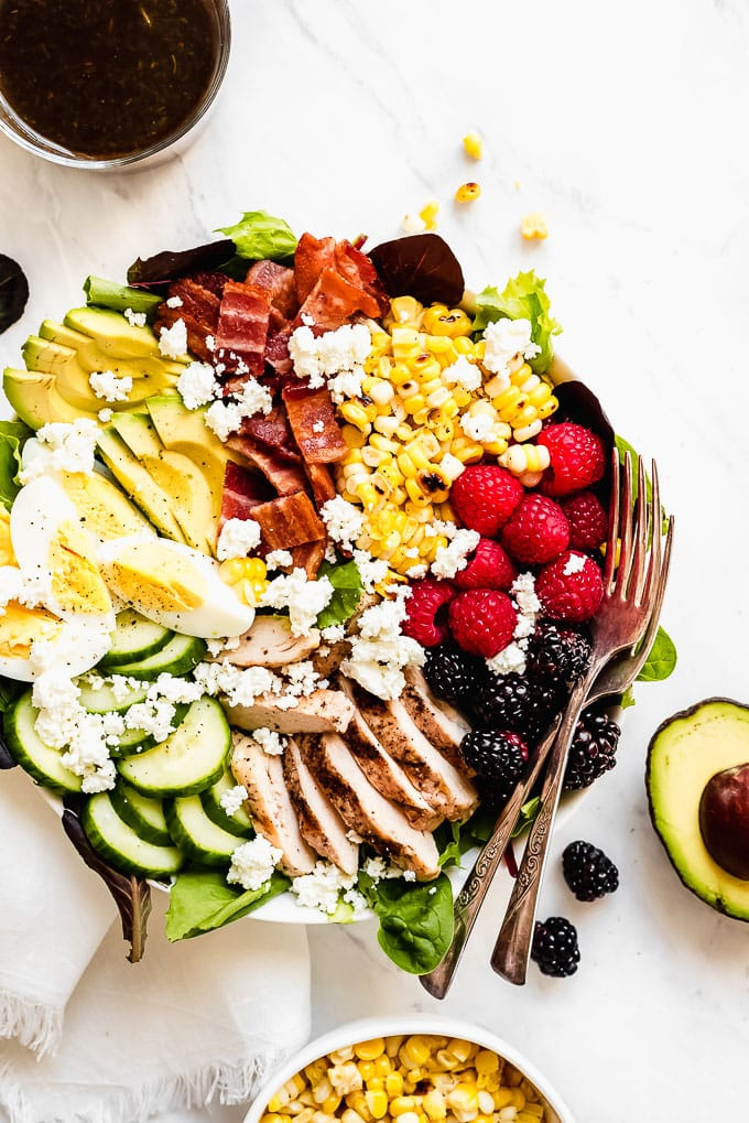 Summer Berry Cobb Salad