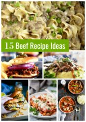15 Beef Recipe Ideas
