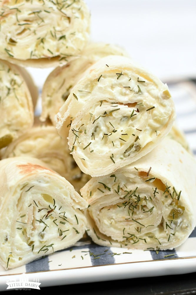 Dill Pickle Rollups