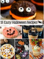 15 Easy Halloween Recipes - Have fun creating easy, spooky recipes that are sure to put a smile on everyone's face!