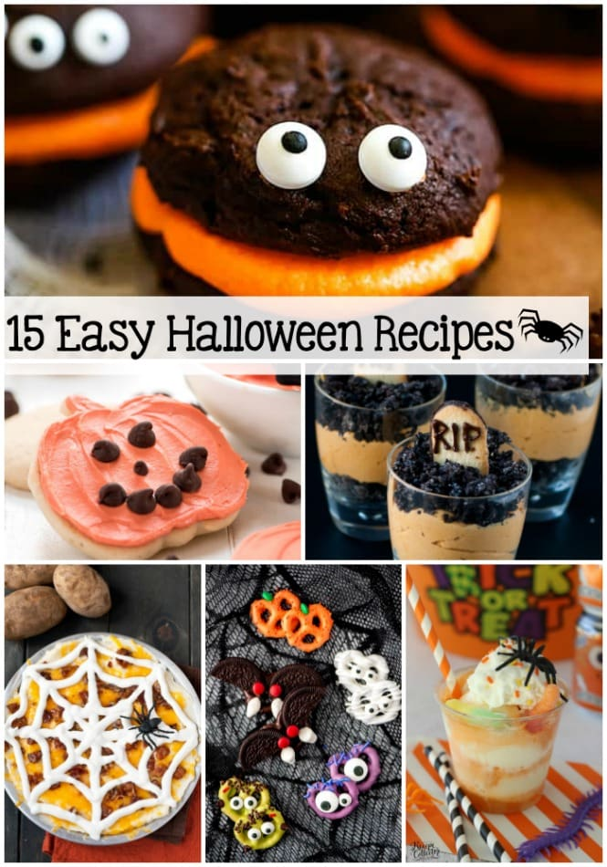 15 Easy Halloween Recipes Diary Of A Recipe Collector