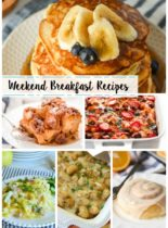 15 Weekend Breakfast Recipes - Perfect recipe ideas for an indulgent breakfast treat!